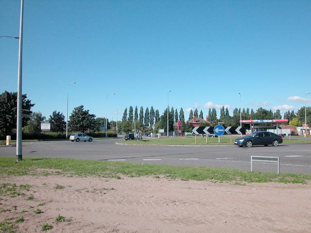 Strawberry Roundabout