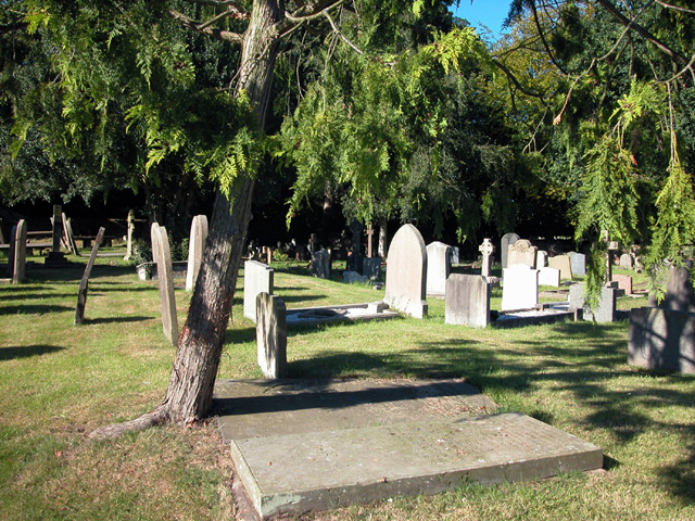 St Oswalds Graveyard