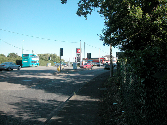 Moston road junction