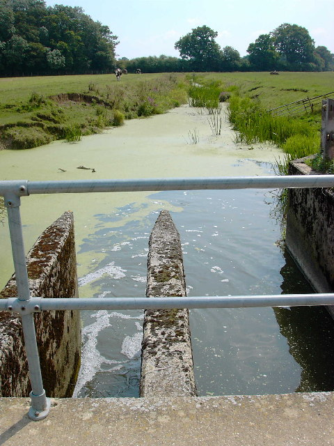 The Weir at Hatterell Bridge