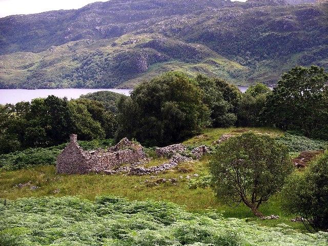 Ruin at Brinacory