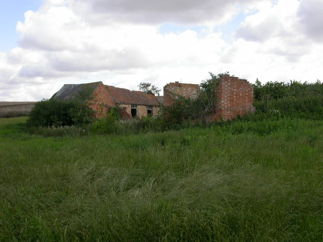 Remains of the old Brook Farm