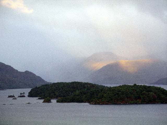 Loch Morar islands