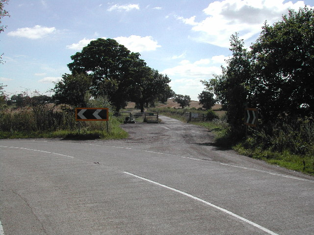 Junction on George's Lane (at top of George's Hill)
