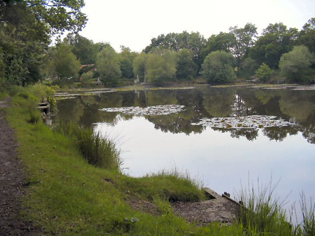 The lake at Kingston