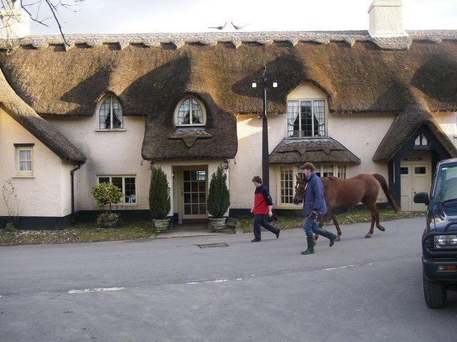 Thatched Pub in Winsford