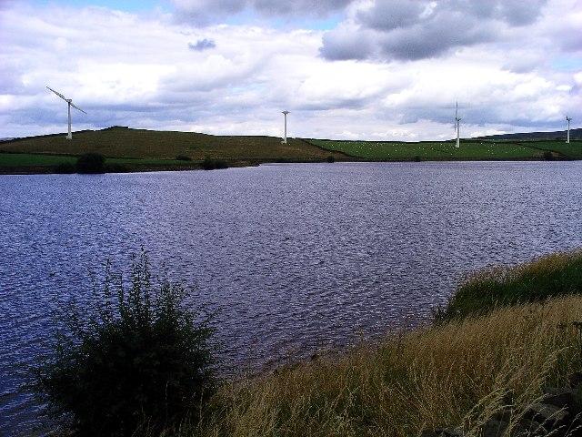Chelker Reservoir & Wind Farm