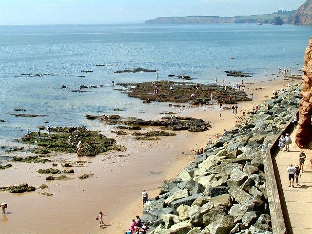 Chit Rocks, Sidmouth