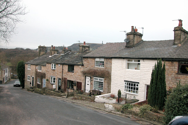 Former Mill Workers Cottages, Brooksbottom