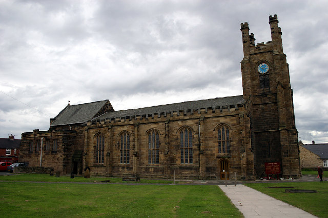 St. Peters, the parish Church of  Redcar