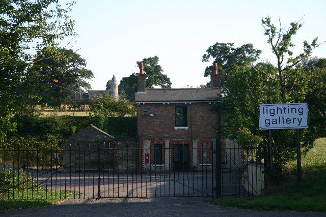 Former railway station at Higham, Suffolk