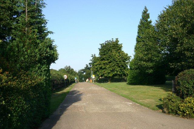Entrance to Broom's Barn