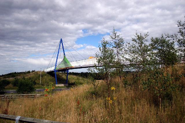 Castle Eden Walkway bridge
