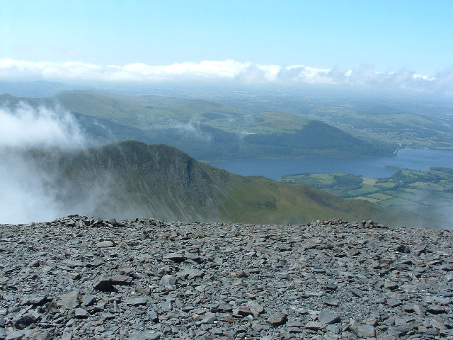 View From NW edge of Skiddaw Summit