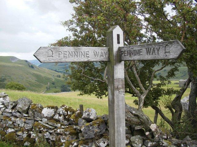 Pennine Way above Muker, Swaledale