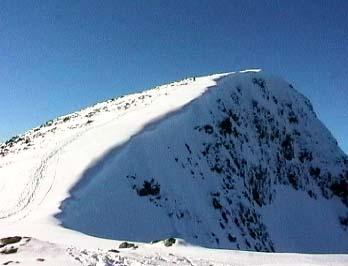 Summit ridge of Stob Gabhar