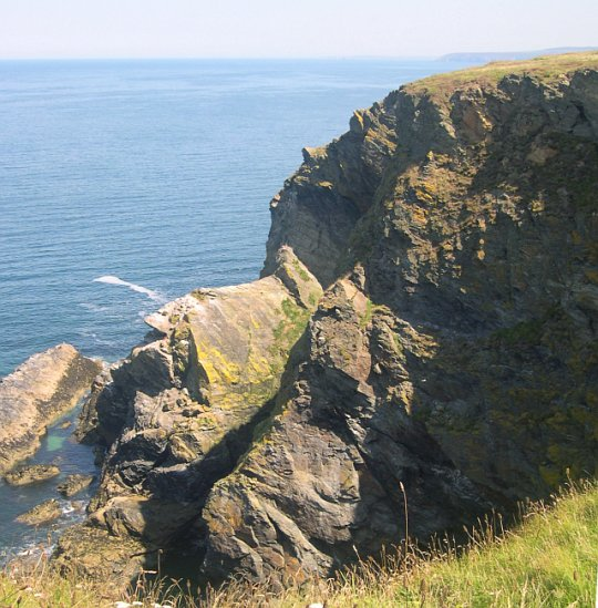 Cliffs at Hudder Cove