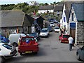 SW7214 : Cadgwith Village Centre by john spivey