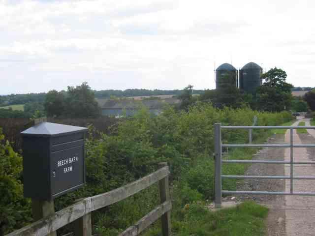 Beech Barn Farm on The Ridgeway near Botany Bay