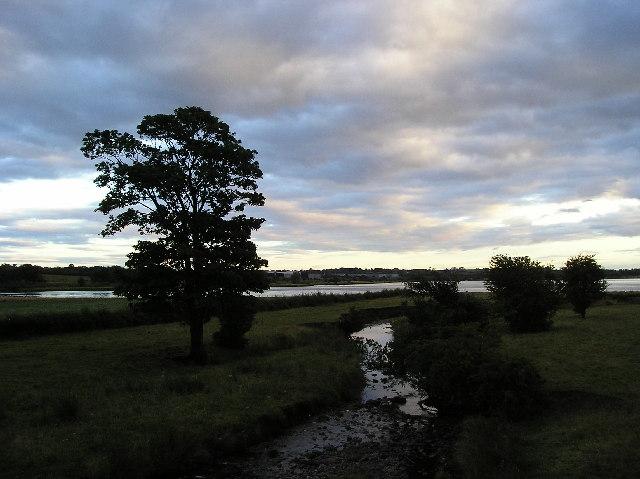 Maich Water from Lochridge Bridge