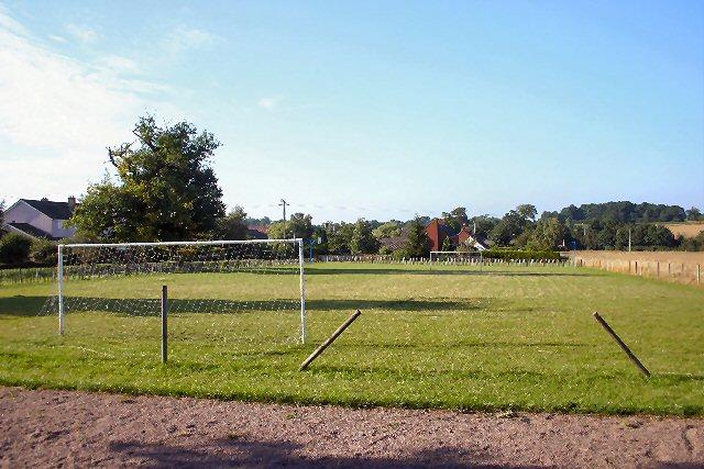 Great Saxham playing field