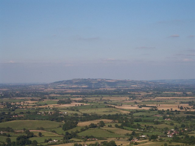 View East from Ragged Stone Hill (towards Bredon Hill)