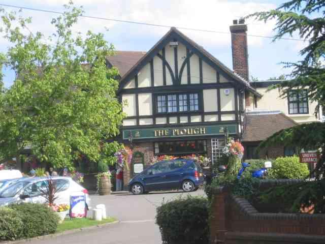 The Plough Pub at Crews Hill
