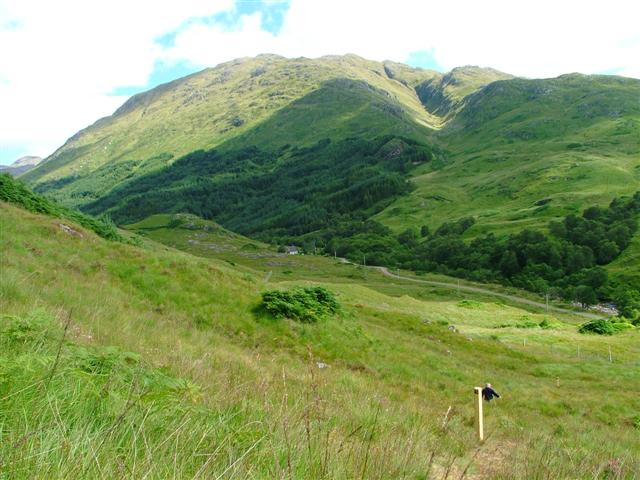 Glen Finnan and Beinn an Tuim