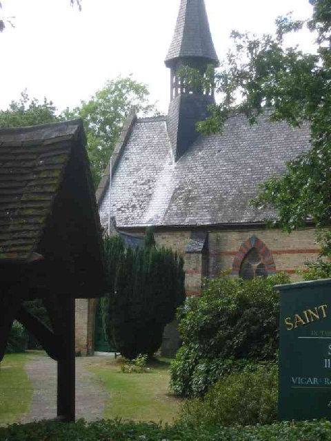 Lych Gate and Church at Clay Hill