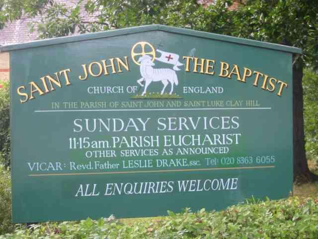 Church of St John The Baptist  Clay Hill