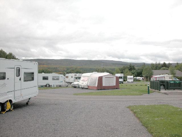 Caravan Site, Culloden