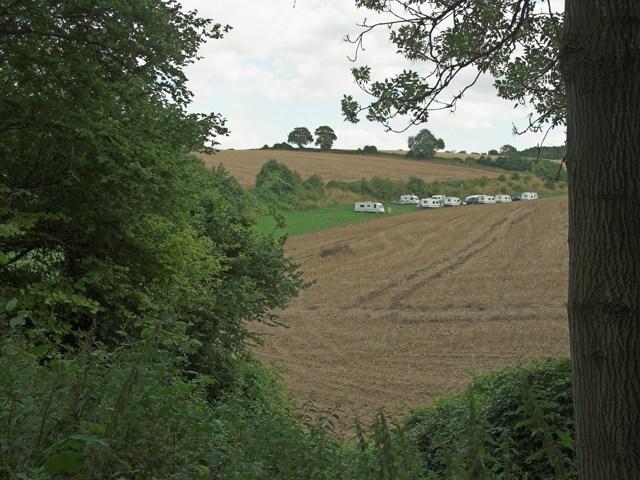 Camp site at Brooklands Farm
