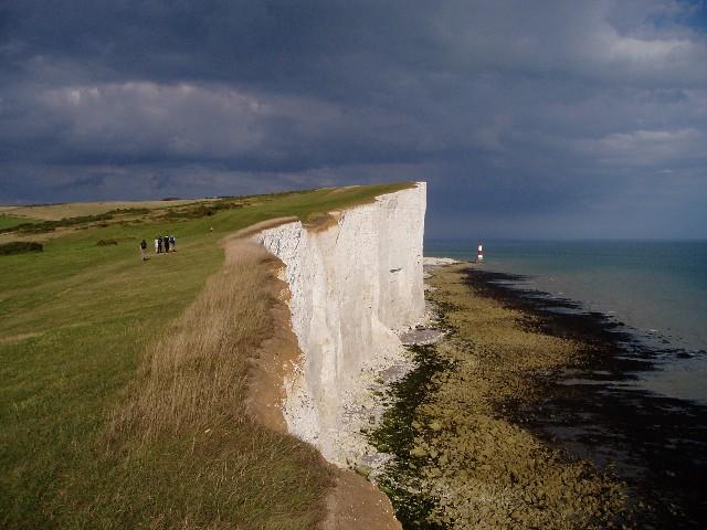 Looking along the cliffs towards Beachy Head