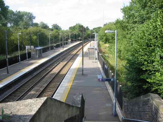 Railway Station at Bayford