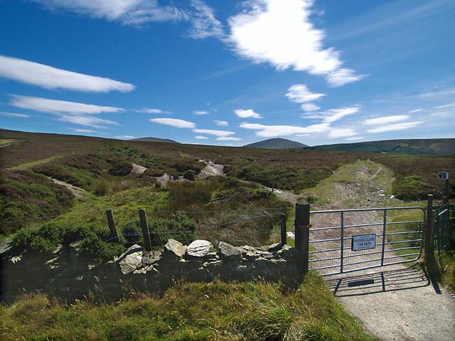 Narradale Gate.  Isle of Man.