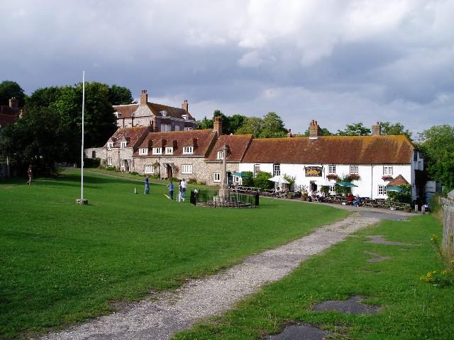 East Dean village green