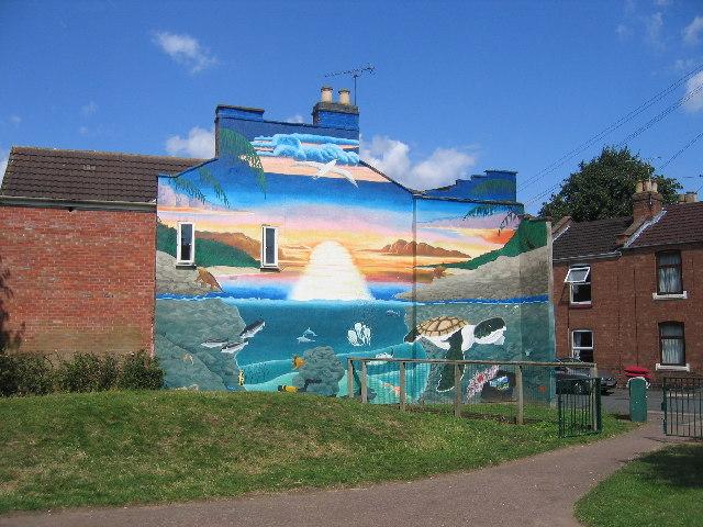 Mural, Rushmore Street