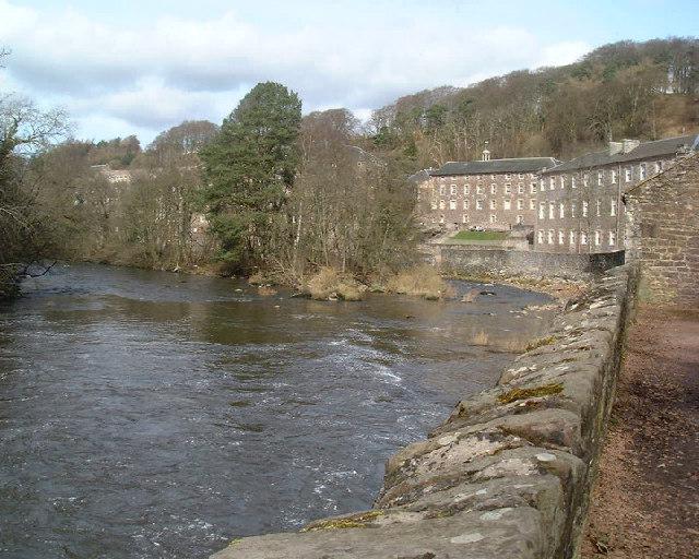 River Clyde & New Lanark