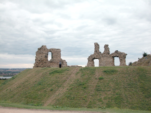 Remains of Castle, Sandal Magna