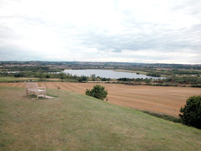 Sandal Magna Castle view