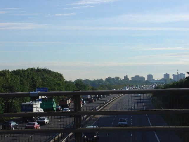 M3 in rush hour
