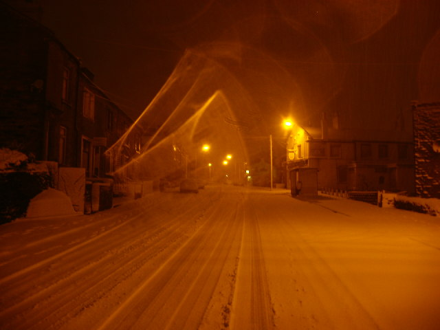 Snow on Fartown, Pudsey