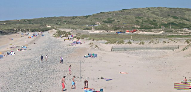 Gwithian Beach and Sand Pit