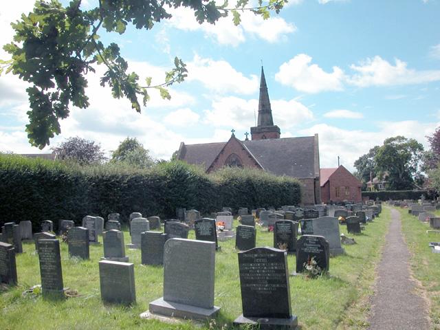 Graveyard Upton