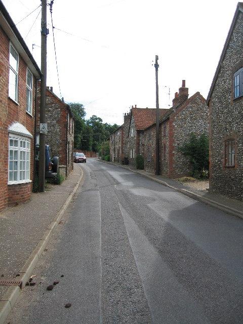 Syderstone Village Street