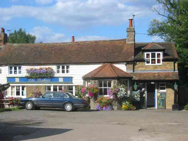 The Beehive Pub at Epping Green. Herts