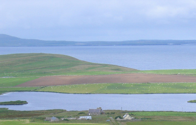 Wasbister Loch on Rousay