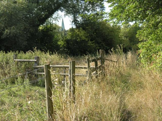 Public Footpath near Wotton