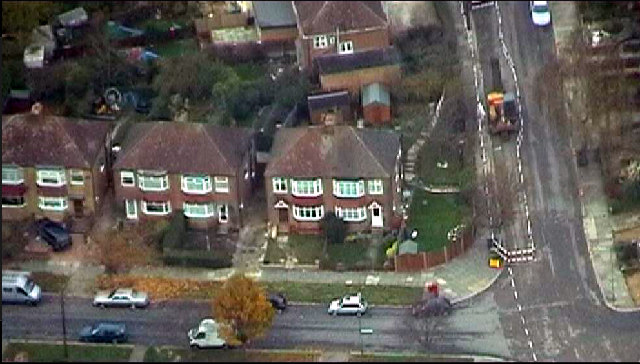 Aerial View of Western Way, Barnet