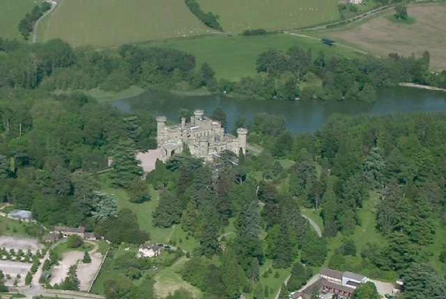 Eastnor Castle and Lake